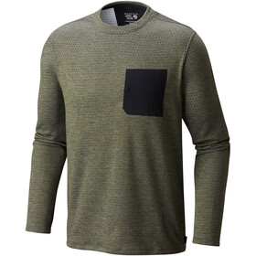 Mountain Hardwear M´s Mainframe Crew Long Sleeve Surplus Green